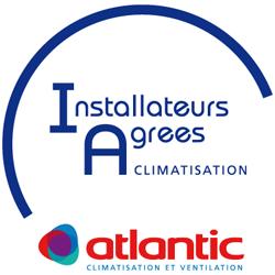 Logo Installateurs agréés Atlantic